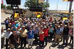 Foto de Gran convocatoria de Masesur para presentar las novedades de JCB y Claas en Sevilla