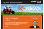 Foto de Kubota lanza K-News, su boletín online de noticias