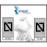Foto de Anapat se certifica en la norma internacional ISO 18878