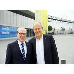 Foto de Entrevista a Ulrich Kromer von Baerle, director general de Moulding Expo, y a Thomas Seul, presidente de la VDWF