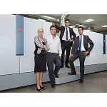 Foto de Liber Digital instala la primera rotativa digital de inyecci�n de tinta en Madrid de la mano de Canon