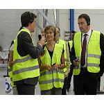 Fotografia de La ministra de Agricultura, Alimentaci�n y Medio Ambiente inaugura la nueva f�brica de Molecor