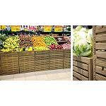Foto de Una caja con 'efecto madera' en el retail