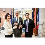 Fotografia de Los vinos de Jerez se promocionan en instituciones europeas
