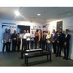 Foto de Entrega de premios del IX Concurso del Aula Cer�mica Hispalyt en la categor�a de Fachadas Cer�micas