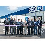 Foto de Stef inaugura su plataforma de transporte de Bischheim (Bas-Rhin)