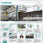Foto de Meusburger lanza su nueva p�gina web