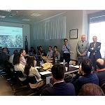 Foto de Tecnicarton muestra a las empresas de Avia sus soluciones innovadoras para el embalaje industrial