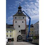 Foto de Una Genie ZX-135/70 participa en la restauraci�n de una torre hist�rica en Austria
