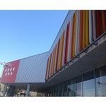 Foto de Gradhermetic viste de color el nuevo polideportivo de Alcal� de Henares con la celos�a Gradpanel-R