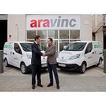 Foto de Ara Vinc apuesta por la movilidad sostenible incorporando furgonetas Nissan e-NV200 100% el�ctricas