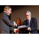 Foto de Juan Ram�n Rodr�guez, presidente de Fundaci�n Icil, recibe el Premio a la Mejor Trayectoria Profesional
