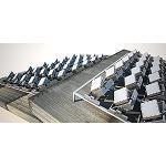 Foto de Un novedoso panel solar que sigue al sol genera entre un 30% y un 40% m�s de energ�a