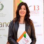 Foto de M�nica Mu�oz, presidenta del 13� Symposium de Sanidad Vegetal