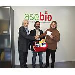 Foto de Asebio entrega los premios del concurso #cienciaparalavida en redes sociales