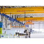 Foto de Konecranes cubre todos y cada uno de los procesos industriales de la pasta y el papel