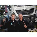 Foto de El piloto espa�ol Pep Vila visita la planta de Iveco en Madrid antes del inicio del Dakar 2015