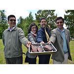 Foto de La profesora Noelia Aldai participa en un seminario internacional sobre el valor a�adido en la carne bovina