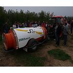 Picture of Gar Melet and Vibasa, Kubota dealers, organized a joint demonstration in Alpicat (Lleida)