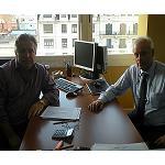 Foto de Entrevista a Jos� Herv�s, director general de C.I.M.A.