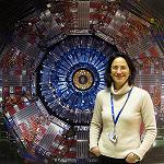 Picture of A Spanish researcher coordinates the taking of data of one of the big experiments of the LHC
