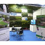 Fotografia de Regaber va presentar �SKYgreen Wall� en el marc de Green Up