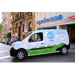 Fotografia de Caprabo incorpora el vehicle elctric a la seva flota de repartiment