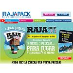 Picture of Rajapack Challenges to his customers of all Europe to participate in an on-line game
