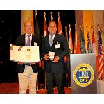 Picture of Marfr�o Receives the Upper Taste Award with the raba empanada and the squid patag�nico