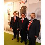 Foto de Entrevista a Javier Cebri�n, director comercial de Wiska Systems Ib�rica, y a Alexander Bauer, director regional de Wiska Hoppmann & Mulsow