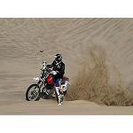 Picture of Tesa, again in the Dakar 2013