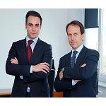 Picture of Jordi Vidal and Rubn Ruiz share the general steering of Rhenus Logistics and Rhenus Tetrans