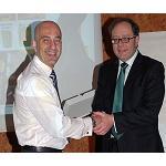 Foto de Olipes, elegido �proveedor del a�o 2012� por los asociados de �tica Redex