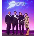 Picture of European prize for the global project of Kimberly-Clark Professional