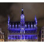 Picture of The Grand Place of Brussels: an installation based in the �emotion'