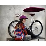 Picture of It is cream an innovative helmet of folding bicycle, sure, comfortable and chord to the urban fashion