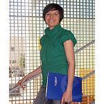 Foto de Entrevista a Nora Lardi�s, t�cnico del departamento de Composites de Aimplas