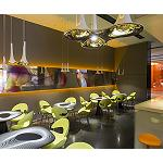 Foto de Milan Hotel Bar cambia de imagen de mano de Karim Rashid usando las tecnologas HP Latex