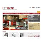 Picture of Extracam Premires web page