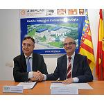 Picture of Quimacova And Aimplas sign an agreement of collaboration for the exchange of information
