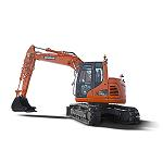 Picture of The new Doosan DX140LCR-3 offers more power and productivity in small spaces