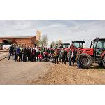 Fotografia de Same presenta als seus clients els nous tractors Virtus a la seva escola de formaci