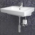 Picture of Geberit Presents his new electronic taps ecological
