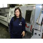 Picture of Delia P. Garc�a, more than 15 years breaking barriers in the sector of the mechanised