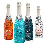 Picture of Codorniu Premires his new bottles of dig Mediterrania, designed by Javier Marshal