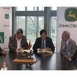 Picture of Asaja And John Deere sign an agreement of collaboration for the purchase of agricultural machinery