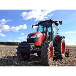 Picture of The tractors of the series M and GX star the presence of Kubota in Demoagro