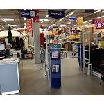 Picture of Bricoking Changes of technology to protect his shops with Checkpoint Systems