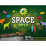 Picture of Space 2013, the International Professional Living room of the Livestock will be of the 10 to 13 September in Rennes (France)