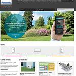 Picture of Panasonic Premi�res a web devoted to the products of heating and air conditioning